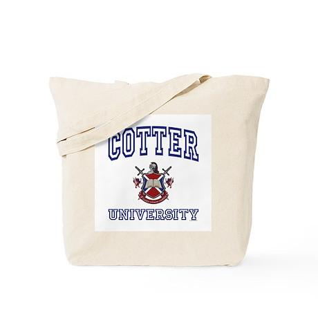 COTTER University Tote Bag