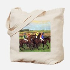 degas at the race track Tote Bag