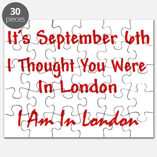 AM IN LONDON CafeRed Puzzle