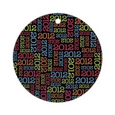 class_of_2012_01 Round Ornament