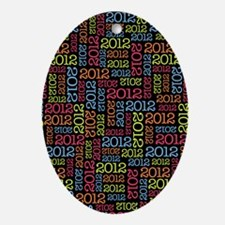 class_of_2012_01 Oval Ornament