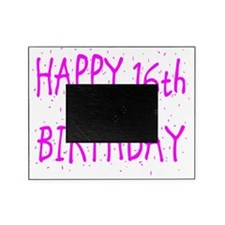 happy 16th birthday p Picture Frame