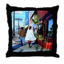 Japantown Throw Pillow