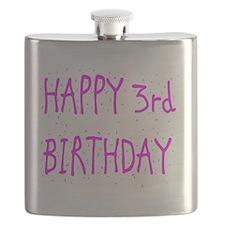 happy 3rd birthday p Flask