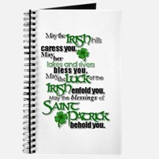 Blessing Of Saint Patrick Journal
