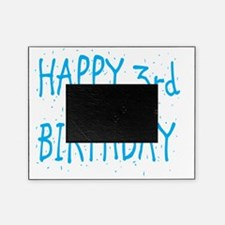happy 3rd birthday b Picture Frame