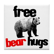 freebearhugs Tile Coaster