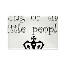 king of the little people Rectangle Magnet