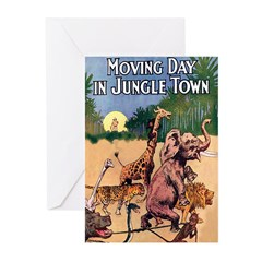 Jungle Town Greeting Cards (Pk of 10)