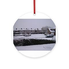Snow Ornament (Round)