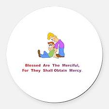 MercifulXXX Round Car Magnet