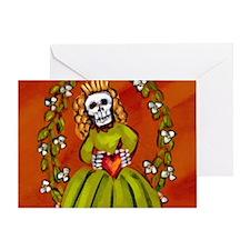 muerta_12-5x13-5h Greeting Card