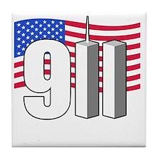 911 -dk Tile Coaster