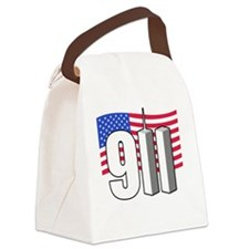 911 -dk Canvas Lunch Bag