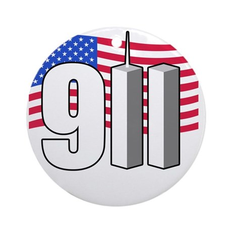 911 -dk Round Ornament