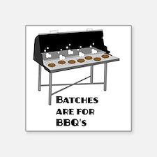 "batches3 Square Sticker 3"" x 3"""