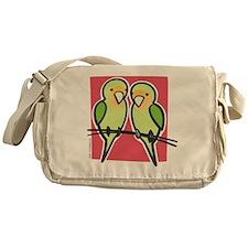lovebirds Messenger Bag