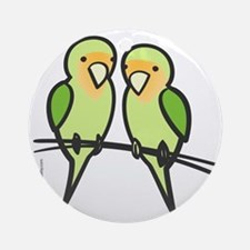lovebirds_only Round Ornament
