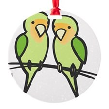 lovebirds_only Ornament