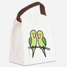 lovebirds_only Canvas Lunch Bag