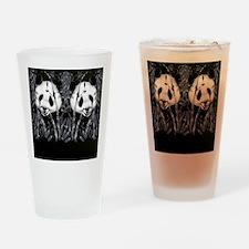 panda_flip_flops Drinking Glass
