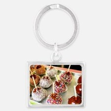 Dipped Applesimg Landscape Keychain
