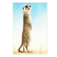 Meerkat Standing (Kindle  Postcards (Package of 8)