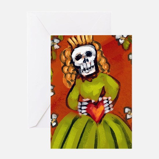 muerta_9-86x18v Greeting Card