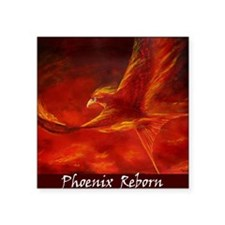 "phoenix-mat Square Sticker 3"" x 3"""