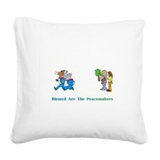 Peacemeakers2XXX Square Canvas Pillow