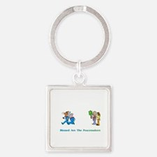 Peacemeakers2XXX Square Keychain