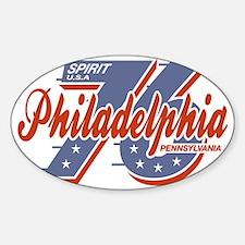 Philadelphia Spirit W Sticker (Oval)