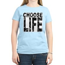 Choose Life Distressed T-Shirt
