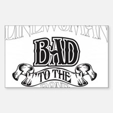 bad to the bone 2 Decal