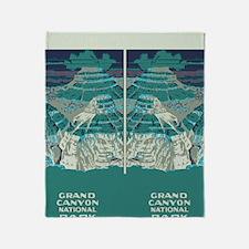 flip_flops_travel_grand_canyon_03 Throw Blanket