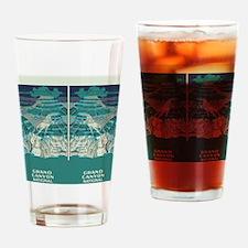 flip_flops_travel_grand_canyon_03 Drinking Glass