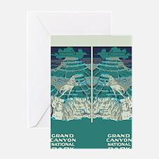 flip_flops_travel_grand_canyon_03 Greeting Card