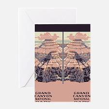 flip_flops_travel_grand_canyon Greeting Card