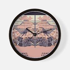 flip_flops_travel_grand_canyon Wall Clock
