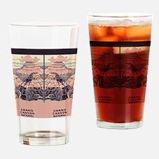 flip_flops_travel_grand_canyon Drinking Glass