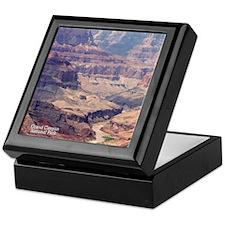 flip_flops_travel_grand_canyon_04 Keepsake Box