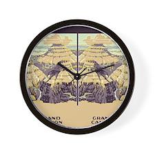 flip_flops_travel_grand_canyon_02 Wall Clock
