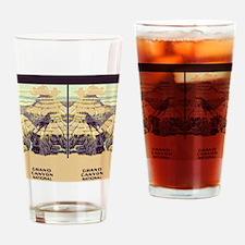 flip_flops_travel_grand_canyon_02 Drinking Glass