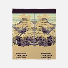 flip_flops_travel_grand_canyon_02 Throw Blanket