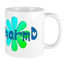 PharmD BLUE FLOWER Mug