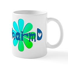 PharmD BLUE FLOWER Mug