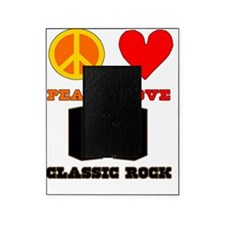 Peace Love Classic Rock Picture Frame