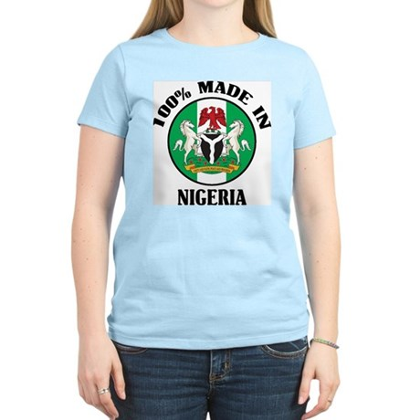 Made In Nigeria Women's Light T-Shirt