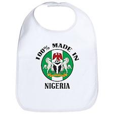 Made In Nigeria Bib