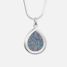 class_of_2013_03 Silver Teardrop Necklace